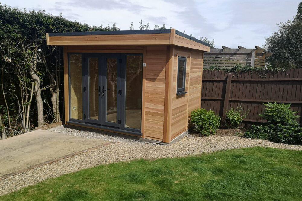 warwick building timber garden office