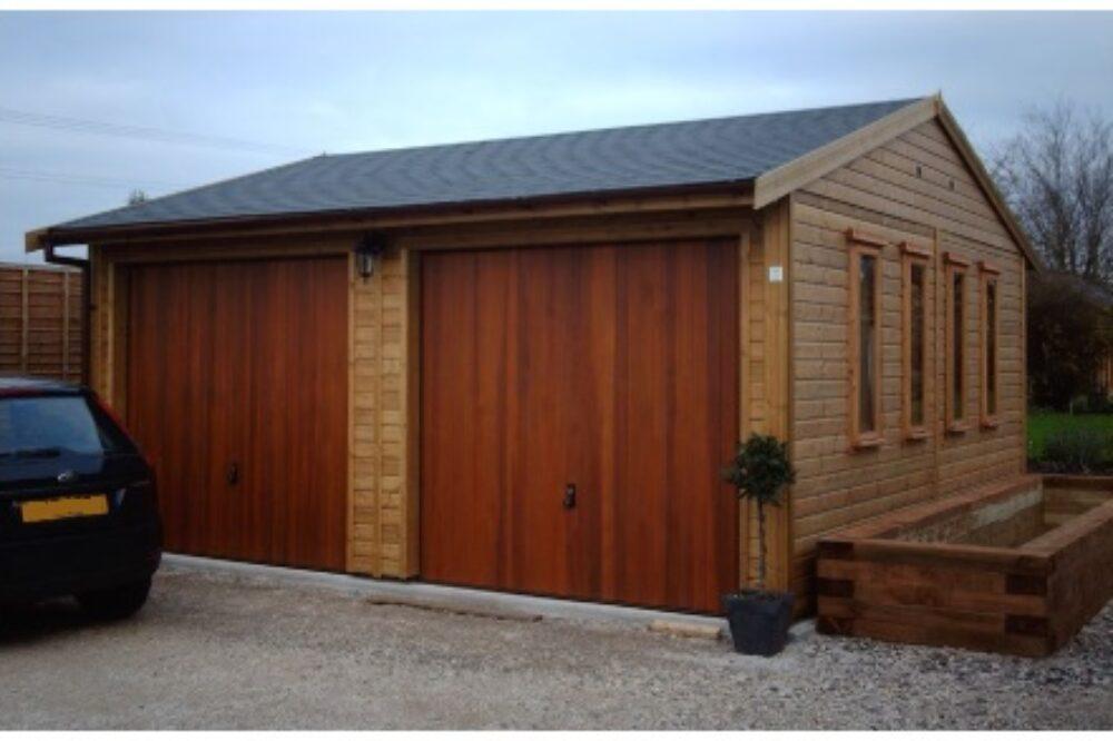Wooden Garage by Warwick Buildings