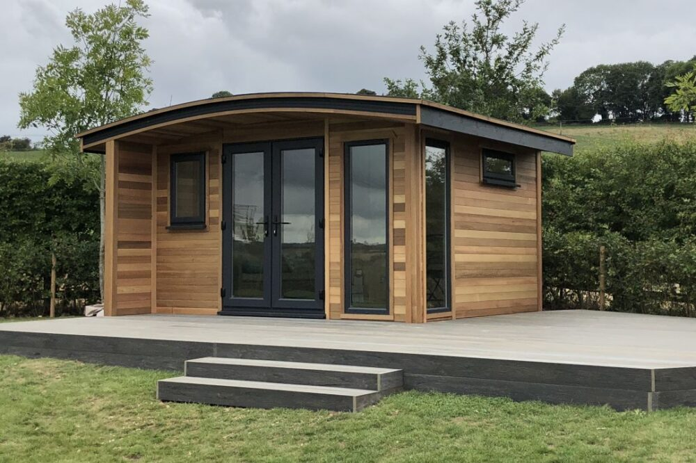 Insulated Garden Rooms for year round use
