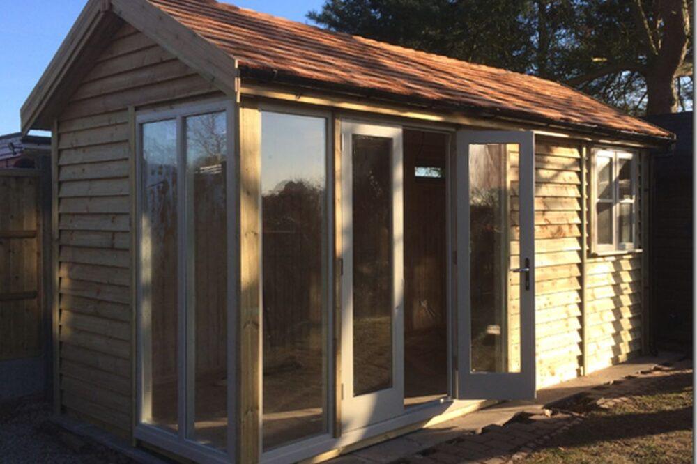 Insulated Garden Studio