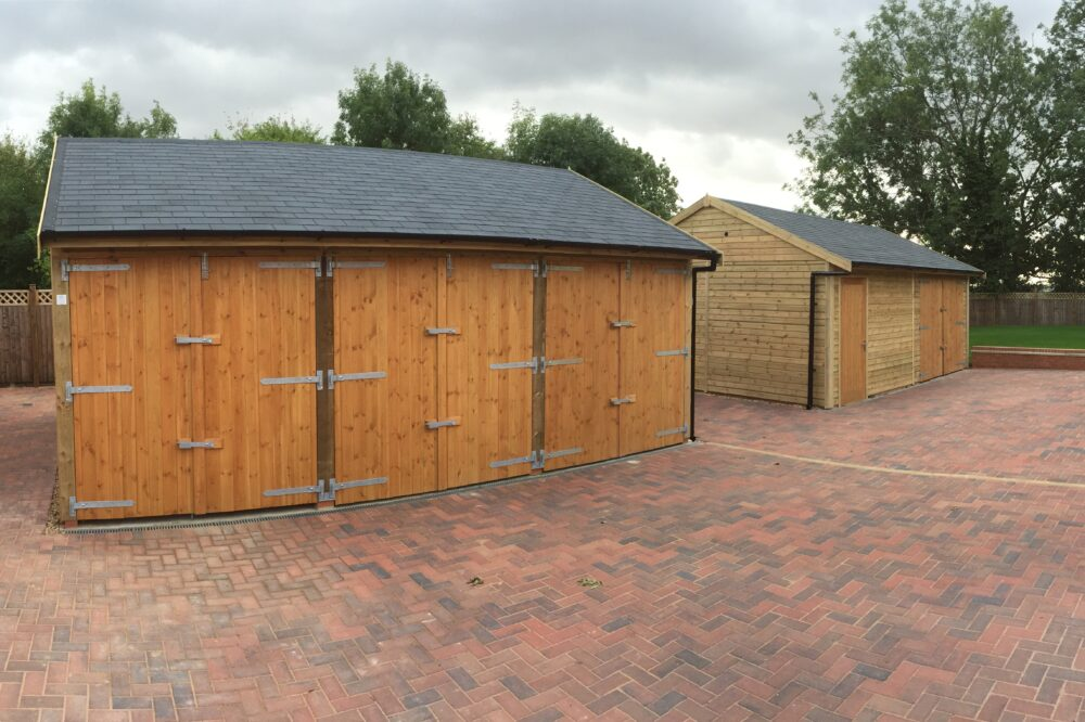 Wooden Garages by Warwick Buildings
